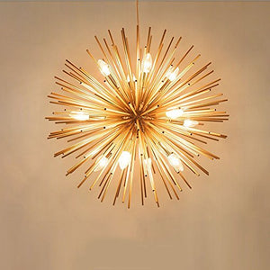Golden Chandelier Ceiling Light Lamp - EK CHIC HOME