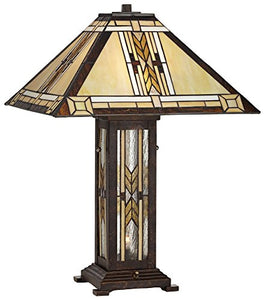Collection Tiffany Style Nightlight Table Lamp - EK CHIC HOME