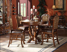 Load image into Gallery viewer, Dresden Counter Height Dining Table, Cherry Oak Finish - EK CHIC HOME