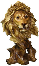 Load image into Gallery viewer, Lion Bust Collectible Figurine - EK CHIC HOME