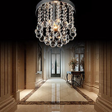Load image into Gallery viewer, Crystal Chandeliers Modern Flush Mount Fixture - EK CHIC HOME