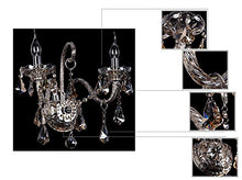 Load image into Gallery viewer, Generic Crystals 2-light Wall Sconces Color Cognac - EK CHIC HOME