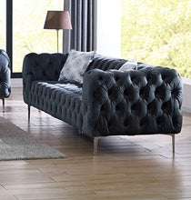 Load image into Gallery viewer, Comfort Plush Tufted 3pc Sofa Set Living Room Furniture - EK CHIC HOME
