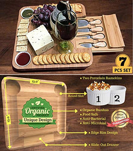 Cheese Board with Cutlery Set - EK CHIC HOME