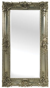 "Champagne Leaner Mirror, 35 7/16"" x 67"", Gold - EK CHIC HOME"