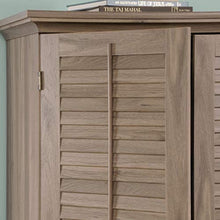 "Load image into Gallery viewer, Harbor View Armoire, For TV's up to 32"", Salt Oak finish - EK CHIC HOME"