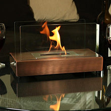Load image into Gallery viewer, Sunnydaze Copper Tabletop Bio Ethanol Fireplace - EK CHIC HOME
