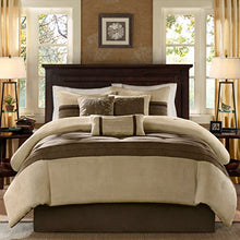 Load image into Gallery viewer, 7 Piece Comforter Set Natural Queen - EK CHIC HOME