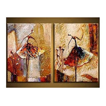 Load image into Gallery viewer, 2 Piece Modern 100% Hand Painted Oil Canvas Wall Art - EK CHIC HOME