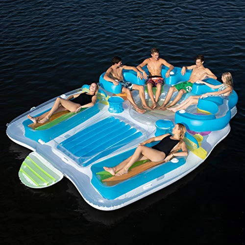 Floating Island Inflatable Raft 7 Person!