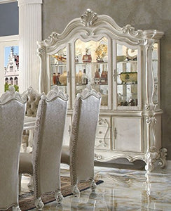Luxurious Versailles Bone White Hutch Buffet - EK CHIC HOME