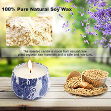 Load image into Gallery viewer, Scented Candles Gift Sets, Natural Soy Wax 4.4 Oz Aromatherapy - EK CHIC HOME