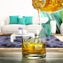 Load image into Gallery viewer, Rock Style Old Fashioned Whiskey Glasses Set Of 6 - EK CHIC HOME