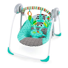 Load image into Gallery viewer, Zig Zag Zebra Portable Swing - EK CHIC HOME