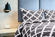Load image into Gallery viewer, Utopia Bedding Printed Comforter Set (Queen, Grey) with 2 Pillow Shams - EK CHIC HOME
