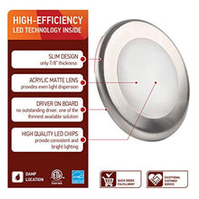 Load image into Gallery viewer, 4 Inch LED Ceiling Light-Dimmable W/Junction Box -12 Pack - EK CHIC HOME