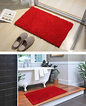 Load image into Gallery viewer, Original Luxury Bathroom Rug Mat (32'' X 20''), Extra Soft and Absorbent Shaggy Rugs - EK CHIC HOME