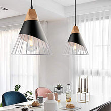 Load image into Gallery viewer, Pendant Metal Cage,Nordic Modern Iron Style Pendant Lights Fixture(3 Kits) - EK CHIC HOME