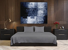 Load image into Gallery viewer, Soft Brushed Microfiber Wrinkle Fade and Stain Resistant 4-Piece Set Grey - EK CHIC HOME