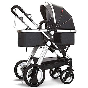 Convertible Bassinet Stroller Compact Single Baby Carriage - EK CHIC HOME