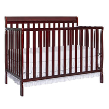 Load image into Gallery viewer, Convertible 4 In 1 Crib, Cherry - EK CHIC HOME
