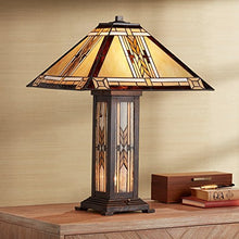 Load image into Gallery viewer, Collection Tiffany Style Nightlight Table Lamp - EK CHIC HOME