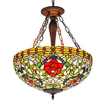 Load image into Gallery viewer, Rose Tiffany Pendant, One Size, Multi-Colored - EK CHIC HOME