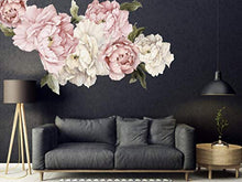 Load image into Gallery viewer, Floral Peonies Wall Decal, Removable Peel WALL STICKERS - EK CHIC HOME