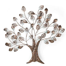 Load image into Gallery viewer, Tree Branch Leaves Metal Wall Decor 25X26 Inch - EK CHIC HOME