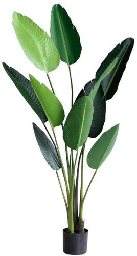 Artificial Palm Tree Bird of Paradise for Indoor Home Office - EK CHIC HOME