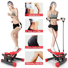 Load image into Gallery viewer, Stepper with Resistance Bands Fitness Equipment for Indoor