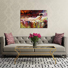 Load image into Gallery viewer, Modern Abstract Woman Canvas Painting Wall Art Nude - EK CHIC HOME