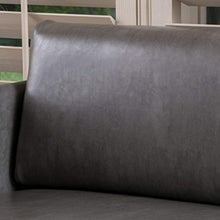 Load image into Gallery viewer, Nyx Grey Leather Loveseat - EK CHIC HOME