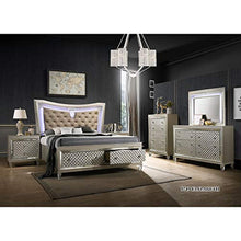 Load image into Gallery viewer, LUXURY 6-Piece Hayley Queen Size Bedroom Set. Bed, Dresser, Mirror, Chest & 2 Night Stands - EK CHIC HOME