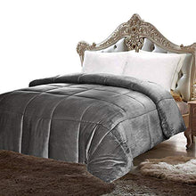 Load image into Gallery viewer, Utopia Bedding Comforter Sherpa Flannel - EK CHIC HOME