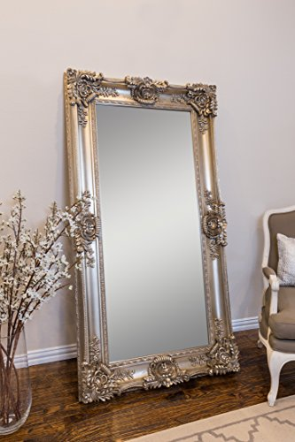 Champagne Leaner Mirror, 35 7/16