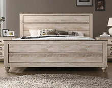 Load image into Gallery viewer, Contemporary White Wash Finish 5 Piece Bedroom Set - EK CHIC HOME