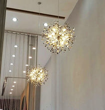 Load image into Gallery viewer, Chandeliers Firework Crystal Pendant - EK CHIC HOME
