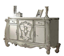 Load image into Gallery viewer, French Versailles Bedroom Set with Queen Bed, Nightstand, Dresser and Mirror - EK CHIC HOME