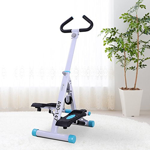 Adjustable Stepper Aerobic Ab Exercise Fitness Workout Machine with LCD Screen