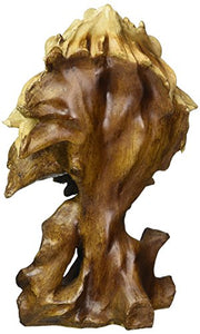 Lion Bust Collectible Figurine - EK CHIC HOME