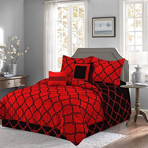 Luxurious 10-Piece Geometric Soft Comforter Set & Bed Sheets Limited-Time Sale!! - EK CHIC HOME