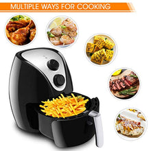 Load image into Gallery viewer, Electric Air Fryer, UL Certified, 3.2 Quart - Healthy Oil Free Cooking - EK CHIC HOME