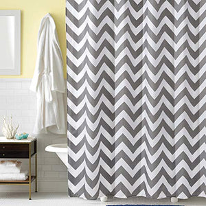 HOFNEN Shower Curtain with Hooks Waterproof Bathtub Curtains for Bathroom 72 x 72 inches - EK CHIC HOME