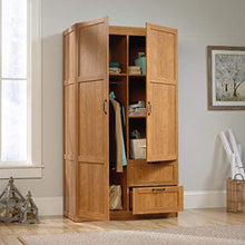 "Load image into Gallery viewer, Storage Cabinet L: 40.00"" x W: 19.45"" x H: 71.10"" Highland Oak - EK CHIC HOME"