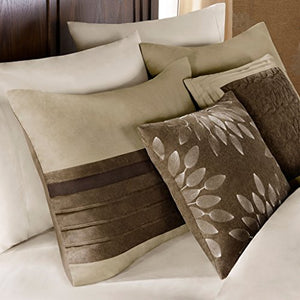 7 Piece Comforter Set Natural Queen - EK CHIC HOME
