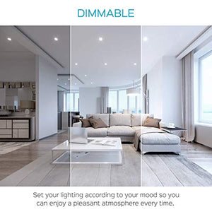 3 Inch Square Ultra Thin LED Recessed Light with Junction Box-(6-Pack) - EK CHIC HOME