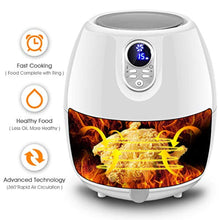 Load image into Gallery viewer, Electric Air Fryer, 4.8 Qt. w/Touch LCD Screen - EK CHIC HOME