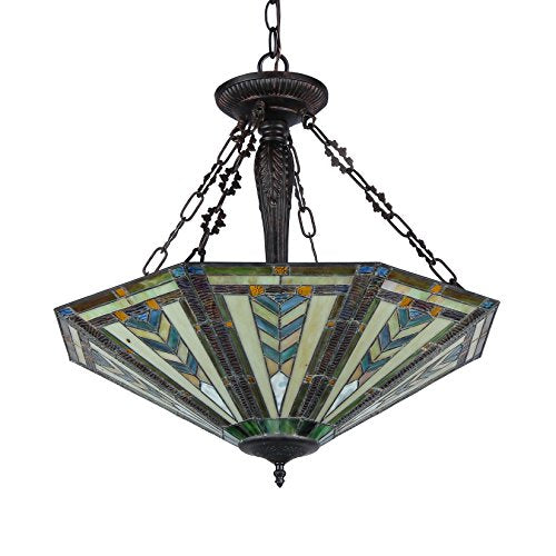 Inverted Ceiling Pendant Fixture with 25