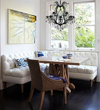 Load image into Gallery viewer, WROUGHT IRON CHANDELIER DRESSED WITH SWAROVSKI CRYSTAL - EK CHIC HOME